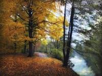 Autumn River View Fine-Art Print