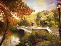 Bow Bridge Crossing Fine-Art Print