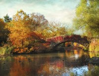 Gapstow Bridge In Autumn Fine-Art Print