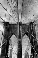 Brooklyn Bridge Approach Fine-Art Print