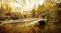 Autumn at Bow Bridge Fine-Art Print