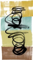 Dancing Swirl I Fine-Art Print