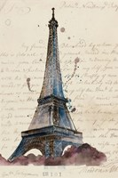 Letters from Eiffel Fine-Art Print