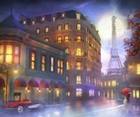 Mightnight In Paris Fine-Art Print