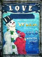 Love Keeps You Warm Fine-Art Print