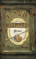 Love Is Happiness Fine-Art Print