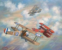 The Red Baron Bugs Out Fine-Art Print