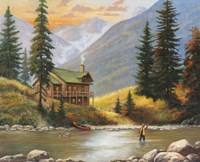 Fly Fisherman Fine-Art Print