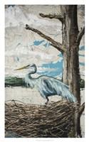 Midway Heron I Fine-Art Print