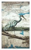 Midway Heron II Fine-Art Print