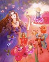 Flora's Realm Fine-Art Print