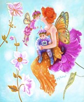 Mother Fairy's Kiss Fine-Art Print