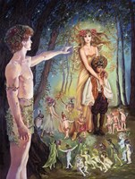 Oberon And Titania Fine-Art Print