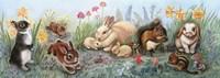 Little Animals Border Fine-Art Print