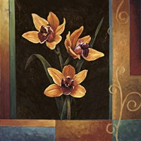 Yellow Orchids Fine-Art Print