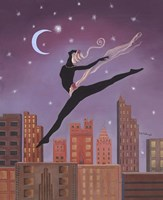 Art Deco Leap Fine-Art Print