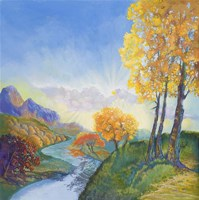 Autumn River Fine-Art Print