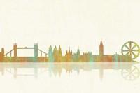 London GB Skyline 1 Fine-Art Print