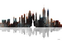 New York New York Skyline BW 1 Fine-Art Print