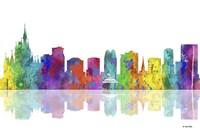 Orlando Florida Skyline 1 Fine-Art Print