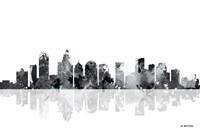 Charlotte NC Skyline BG 1 Fine-Art Print