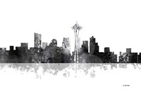Seattle Washington Skyline BG 1 Fine-Art Print
