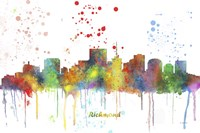 Richmond Virginia Skyline Multi Colored 1 Fine-Art Print