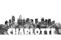 Charlotte NC Skyline BG 2 Fine-Art Print