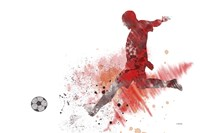 Soccer Player 1 Fine-Art Print