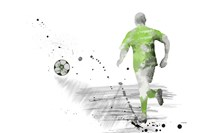 Soccer Player 5 Fine-Art Print