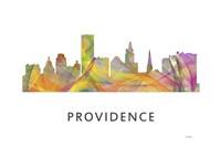 Providence Rhode Island Skyline Fine-Art Print