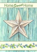 Blue Star Sweet Home Fine-Art Print