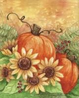 Sunflowers Autumn Fine-Art Print