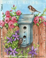 Sparrow House Rules Fine-Art Print