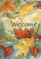 Welcome Leaves Fine-Art Print