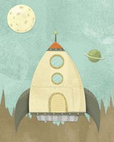 Kids Spaceship Fine-Art Print