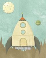 Kids Spaceship Fine-Art Print