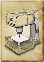 Machine 2 Fine-Art Print