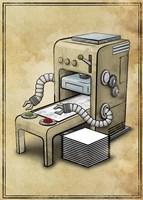 Printer Fine-Art Print