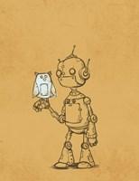Robot Owl Fine-Art Print