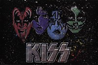 KISS - Face Off Multi Color Fine-Art Print