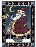 Apple Santa Noel Fine-Art Print