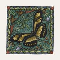 Apple Butterfly Tile Fine-Art Print