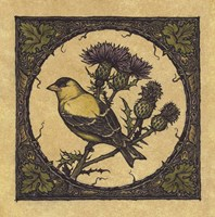 Apple Grossbeak Bird Fine-Art Print