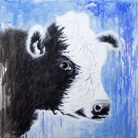 Black and White Cow Fine-Art Print