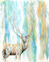 Deer Tree Fine-Art Print