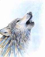 Howling Wolf Fine-Art Print
