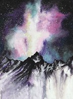 Starruption Galaxy Landscape Fine-Art Print