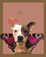 Butterfly Dog 2 Fine-Art Print