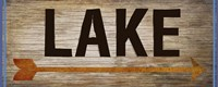 Lake Sign 1 Fine-Art Print